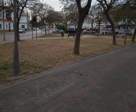 Local en zona el campo de fútbol